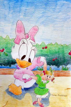Coloured Pencil By Renee Josephsen Age 9
