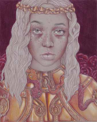 Coloured Pencil by Alli Moore