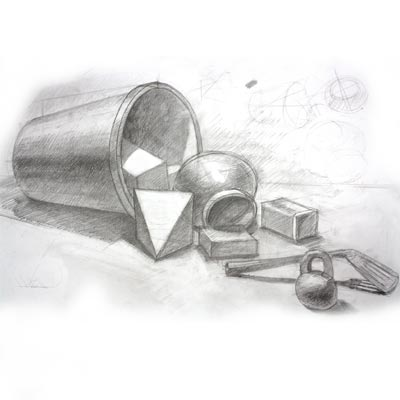 Draw household items Picture