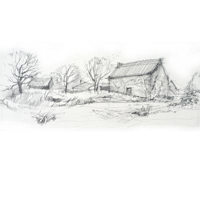 Draw Simple Landscape Picture