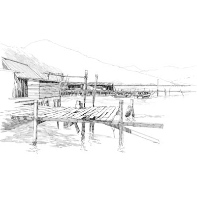 Draw a Pier Picture