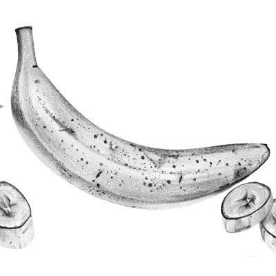 Draw a Banana Picture