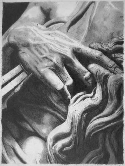 Moses Hand Drawing