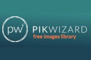 Pikwizard Logo Picture