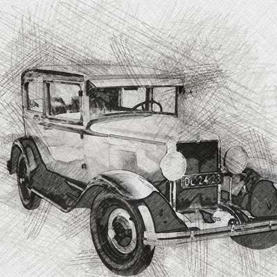 Draw a Car Picture