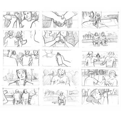 Thumbnail drawings Picture